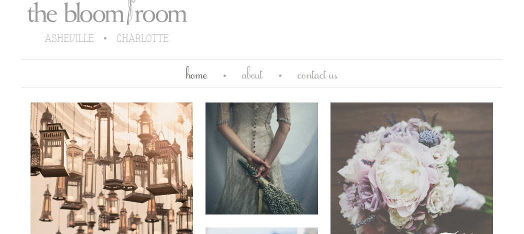 Bloom Room Homepage Top
