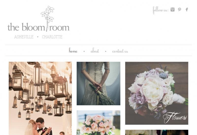 Bloom Room Homepage Top